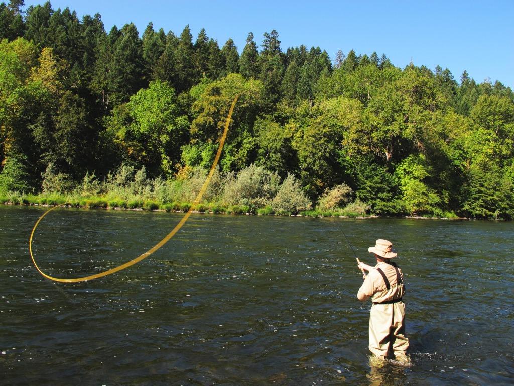 fishing the Rogue River